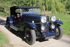 1933 Talbot 95/105 Coupe des Alpes Vanden Plas bodied Tourer For Sale