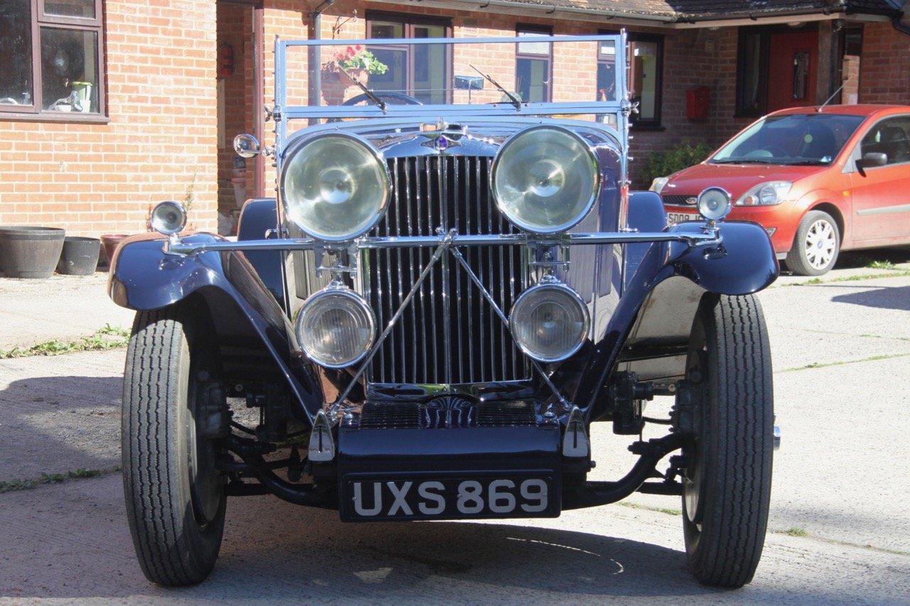 "1933 Talbot 95/105 ""Coupe des Alpes"" Vanden Plas style Tourer For Sale (picture 1 of 6)"