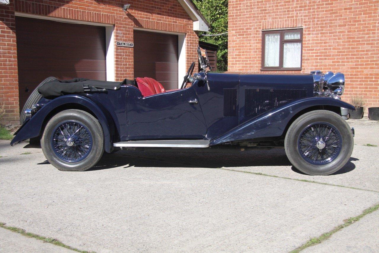 "1933 Talbot 95/105 ""Coupe des Alpes"" Vanden Plas style Tourer For Sale (picture 3 of 6)"
