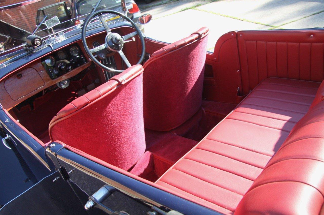 "1933 Talbot 95/105 ""Coupe des Alpes"" Vanden Plas style Tourer For Sale (picture 4 of 6)"
