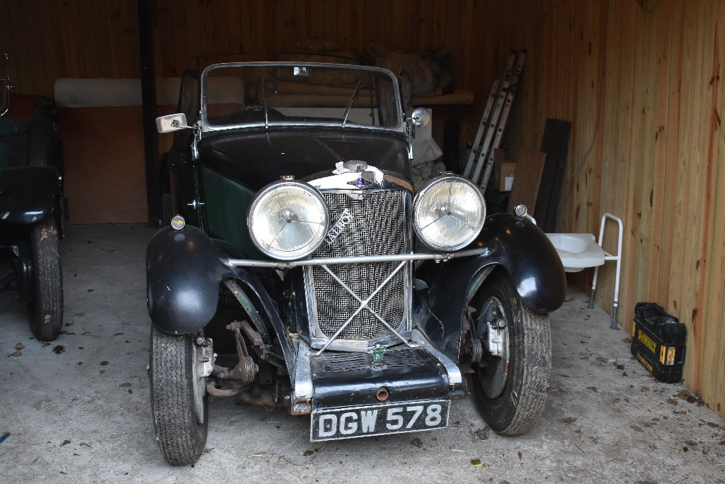 Lot 33 - A 1936 Talbot 75 Sports special - 23/06/2019 For Sale by Auction (picture 1 of 6)