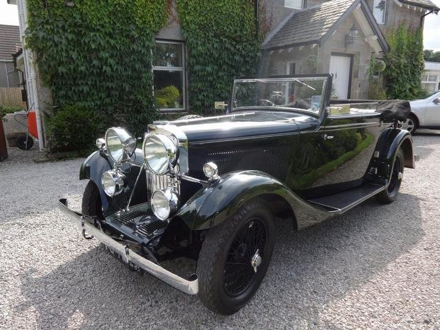 1934 Great Touring Talbot with pre-selector For Sale (picture 1 of 5)