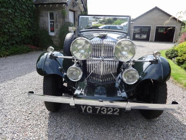 1934 Great Touring Talbot with pre-selector For Sale (picture 2 of 5)