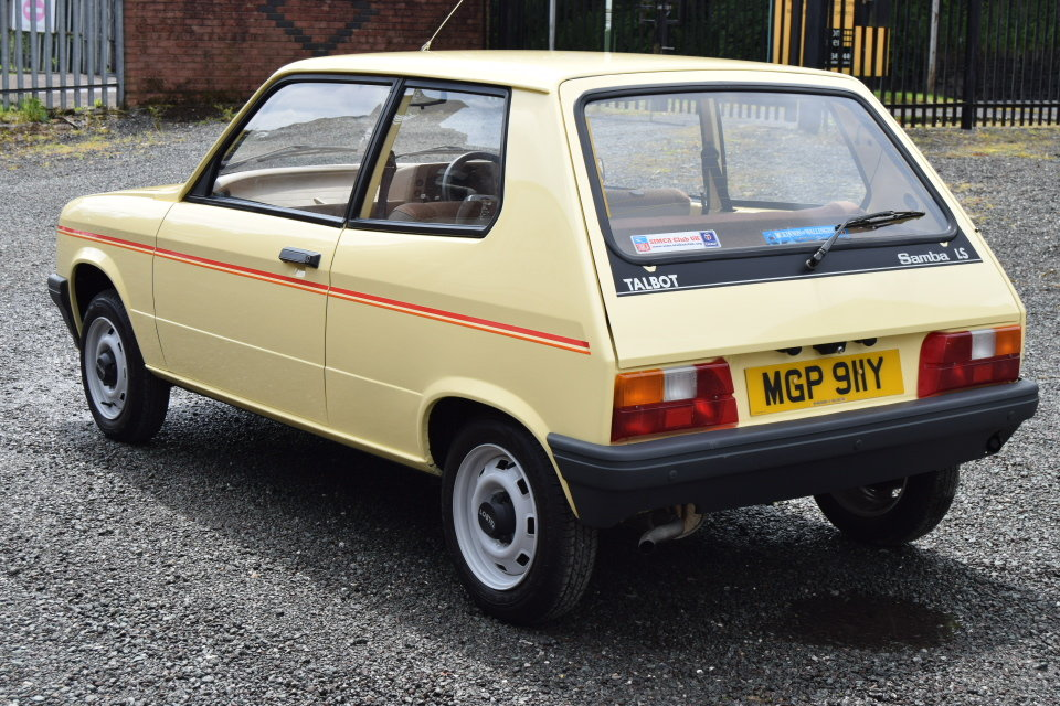 1983 Talbot Samba LS, Just 16762 Miles, Exceptional Example For Sale (picture 3 of 6)