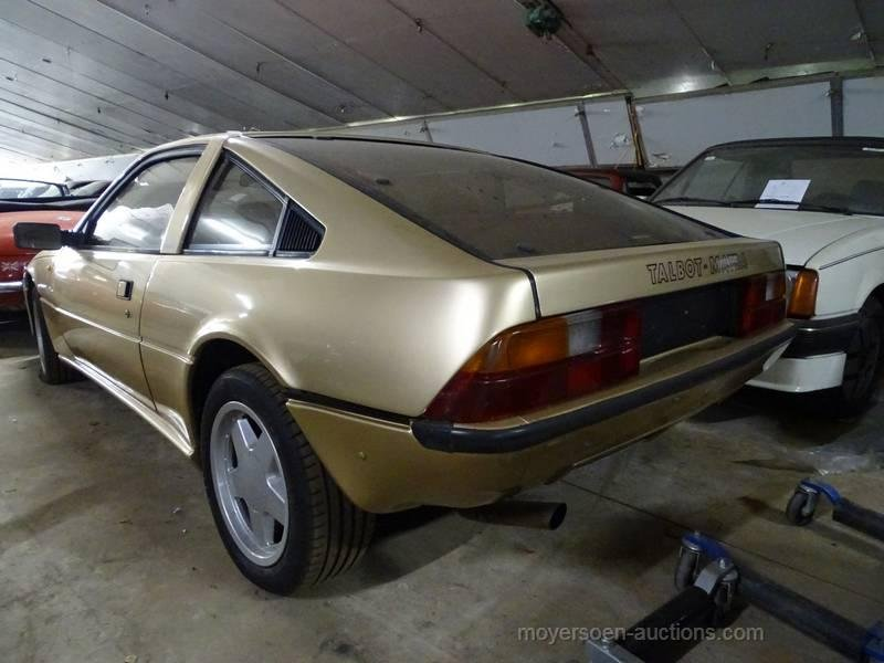 1982 TALBOT-MATRA Murena 2200T  For Sale by Auction (picture 3 of 6)