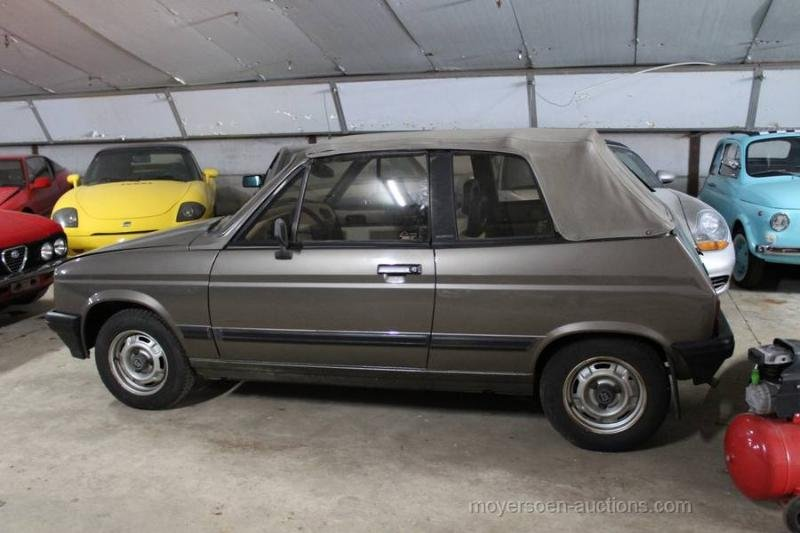 1983 TALBOT Samba Cabrio For Sale by Auction (picture 2 of 6)