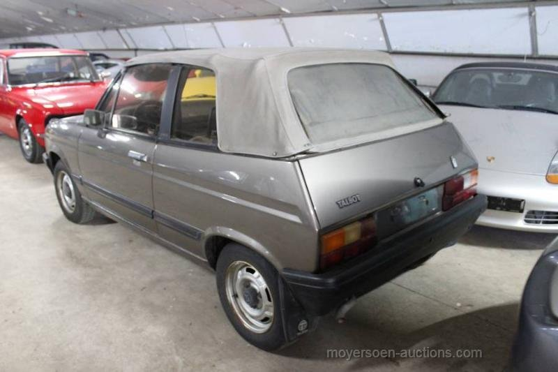 1983 TALBOT Samba Cabrio For Sale by Auction (picture 3 of 6)