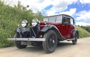 1934 Talbot 65 Saloon For Sale by Auction