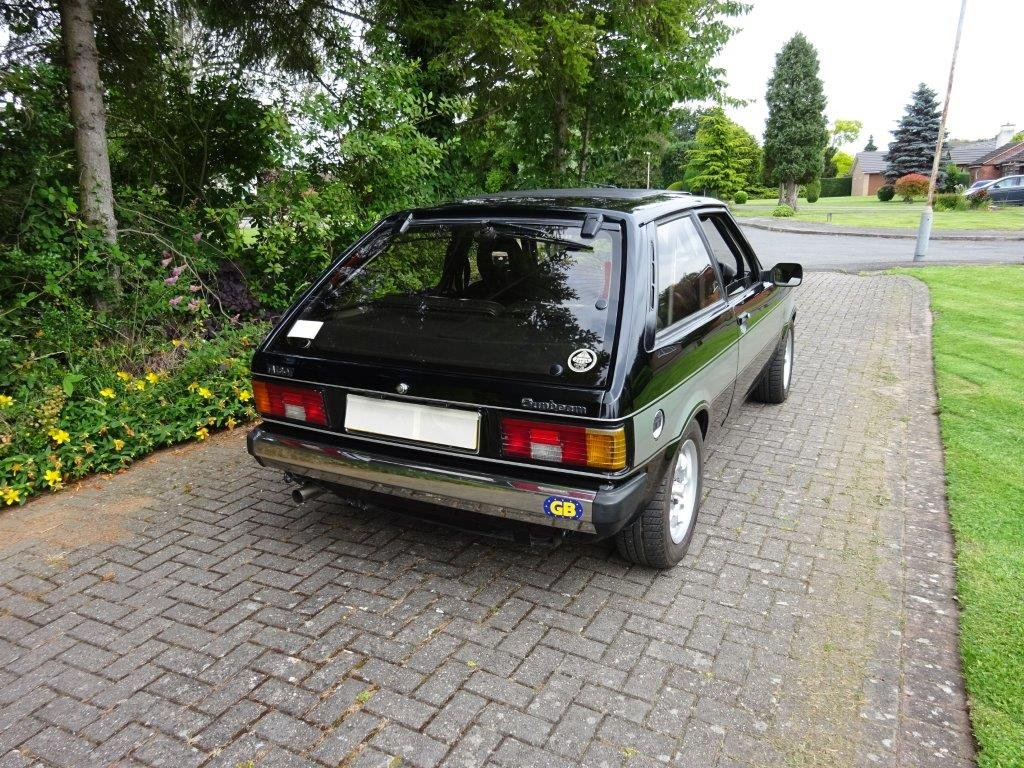 1981 TALBOT SUNBEAM LOTUS For Sale (picture 2 of 6)