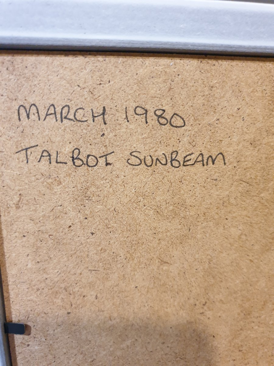1980 Talbot Sunbeam Advert Original  For Sale (picture 2 of 2)