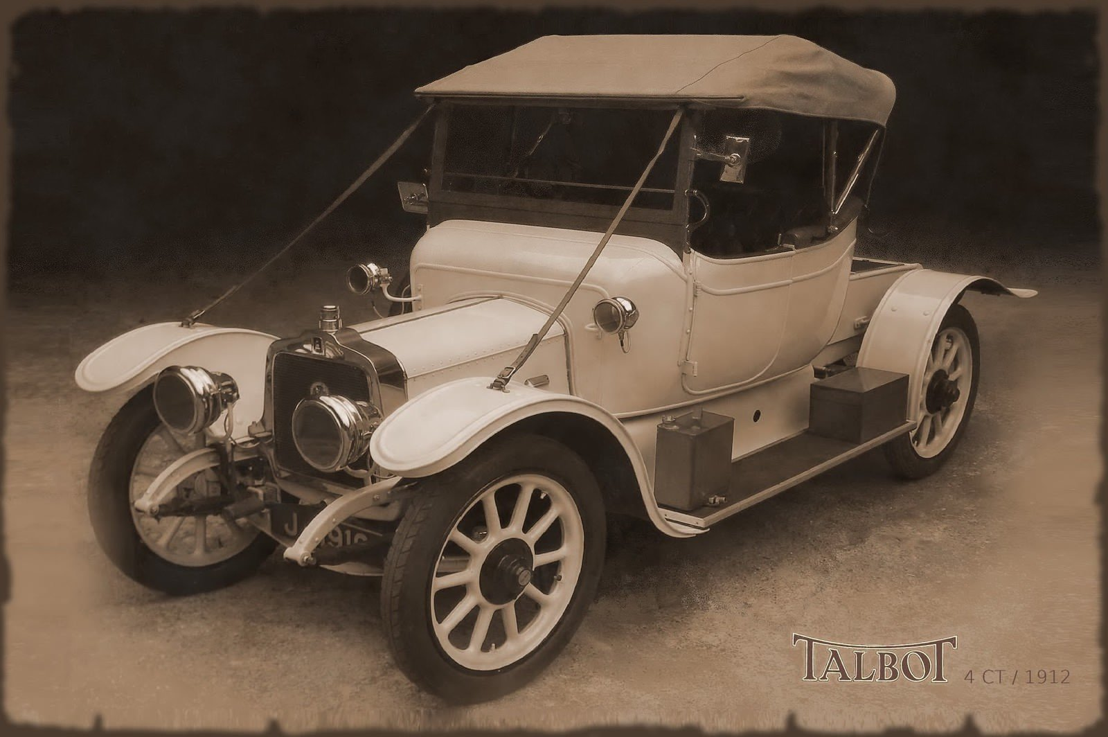 1910 Talbot 4CT 16hp For Sale (picture 3 of 6)