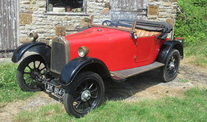 1922 TALBOT 8/18HP TOURER WITH DICKEY For Sale by Auction