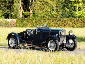 1933 TALBOT AV105 TWO-SEATER SPORTS RACING CAR For Sale by Auction