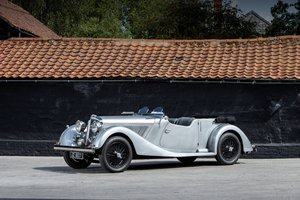 1937 Talbot BG110 Sports Tourer by Vanden Plas