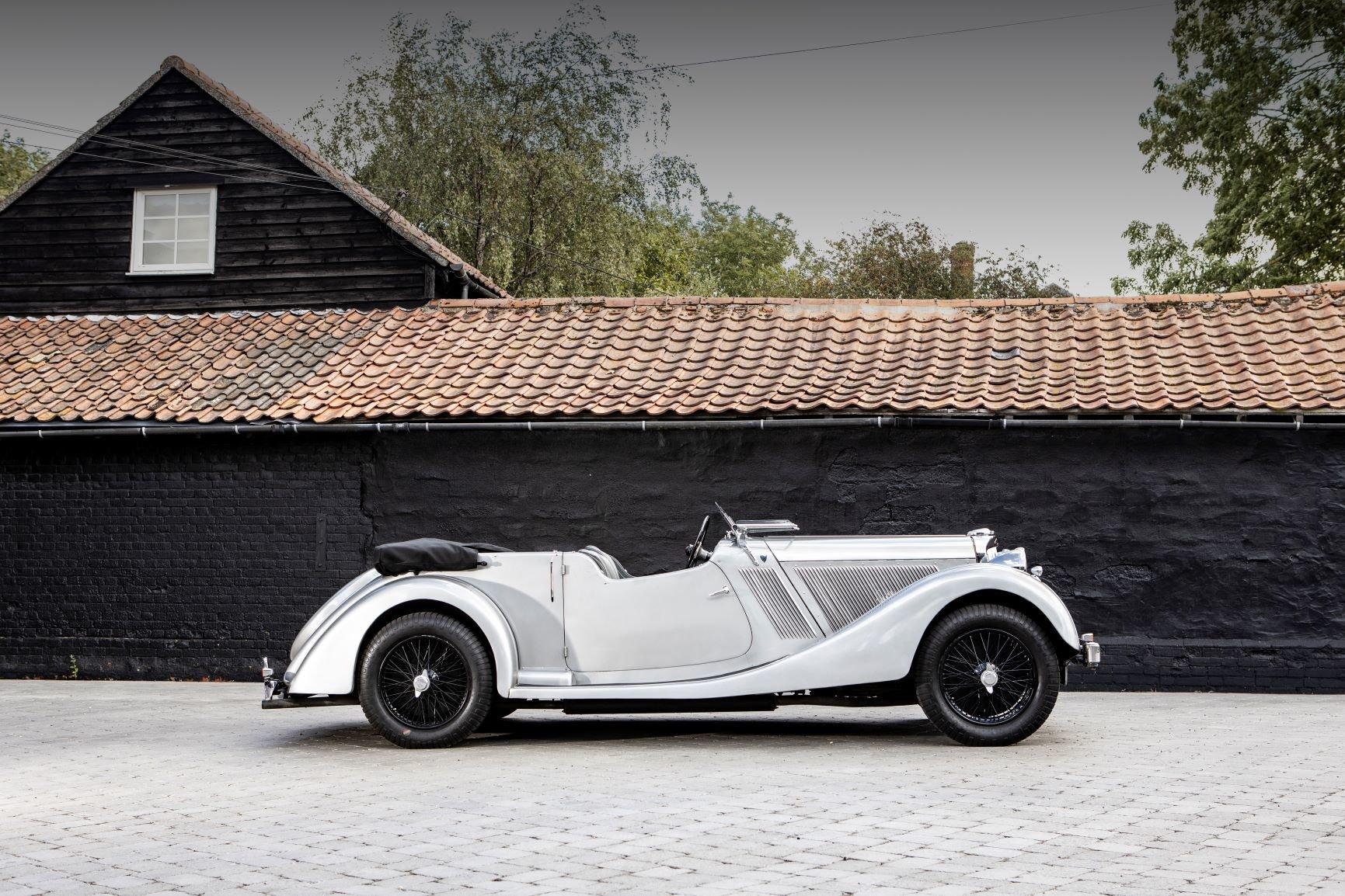 1937 Talbot BG110 Sports Tourer by Vanden Plas For Sale (picture 2 of 6)