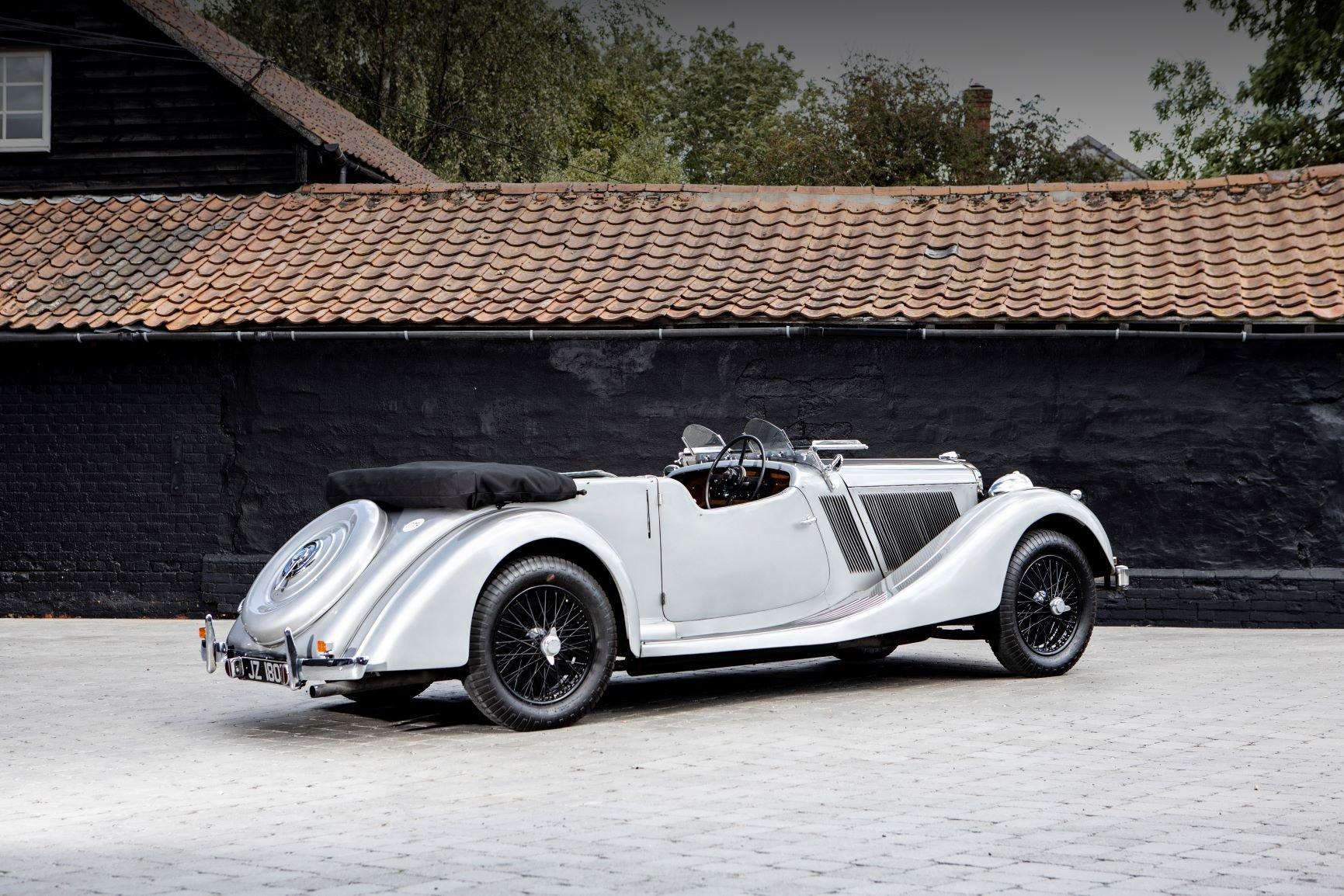 1937 Talbot BG110 Sports Tourer by Vanden Plas For Sale (picture 3 of 6)