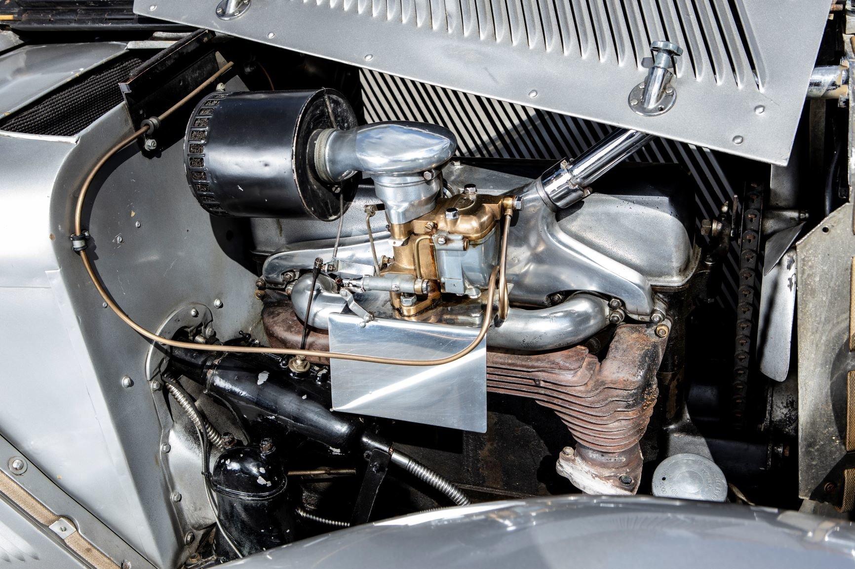 1937 Talbot BG110 Sports Tourer by Vanden Plas For Sale (picture 5 of 6)