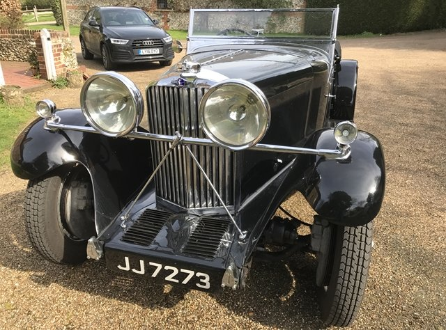 1933 A rare and desirable Roesch Talbot AV105 sports tourer For Sale (picture 1 of 6)