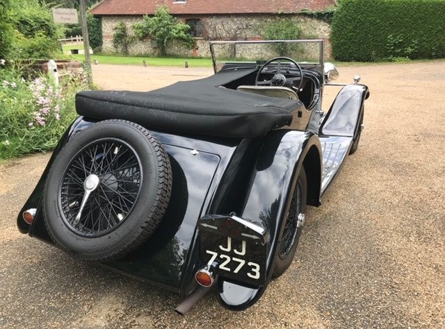 1933 A rare and desirable Roesch Talbot AV105 sports tourer For Sale (picture 2 of 6)