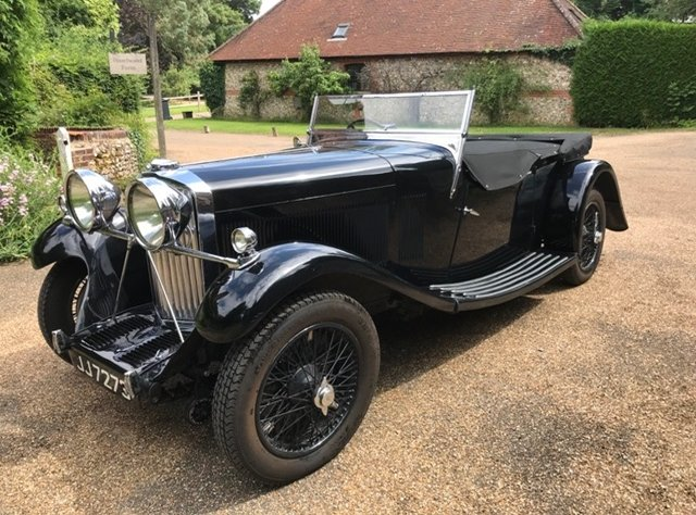 1933 A rare and desirable Roesch Talbot AV105 sports tourer For Sale (picture 3 of 6)