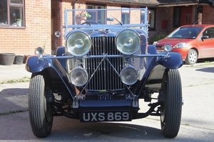 "1933 Talbot 95/105 ""Coupe des Alpes"" Vanden Plas style Tourer For Sale"