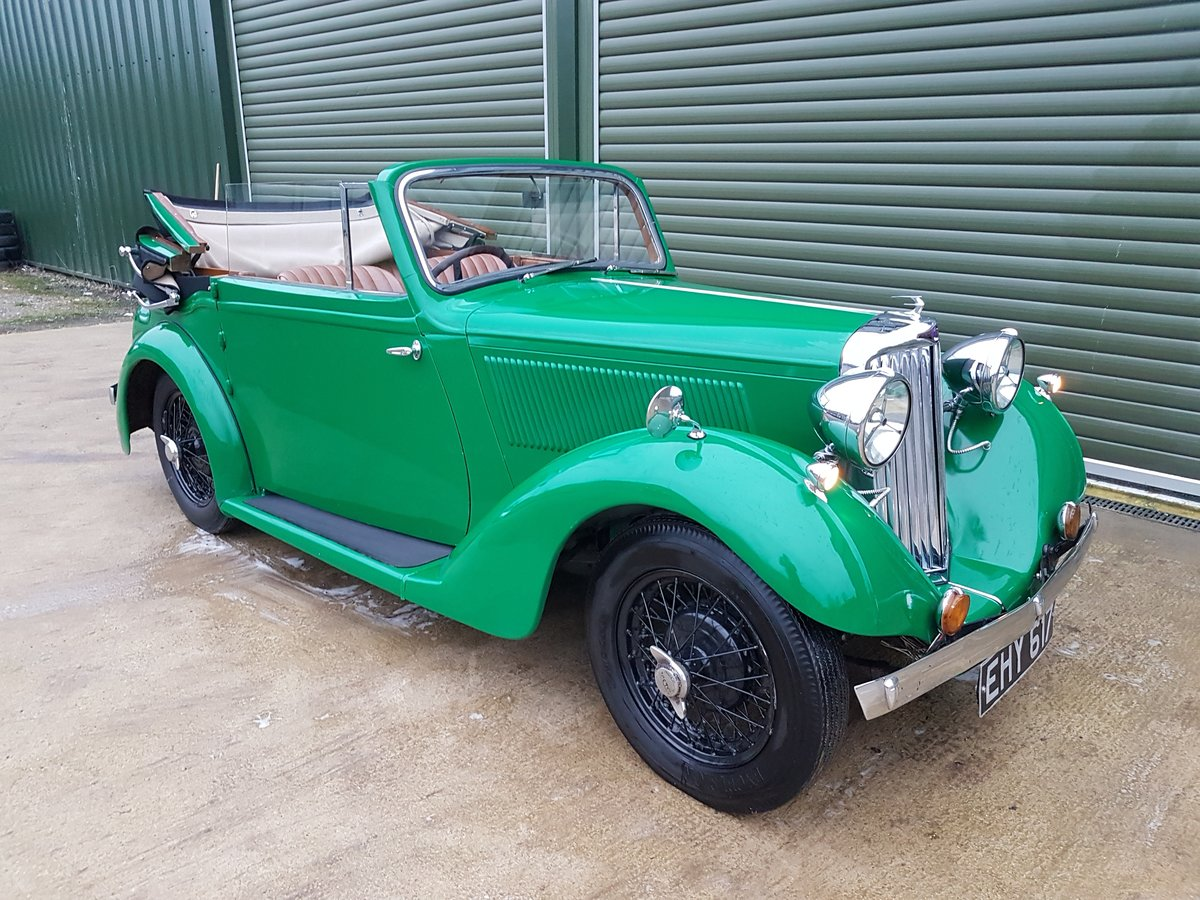 1937 Talbot Ten Drophead Coupe by Abbott SOLD (picture 2 of 6)