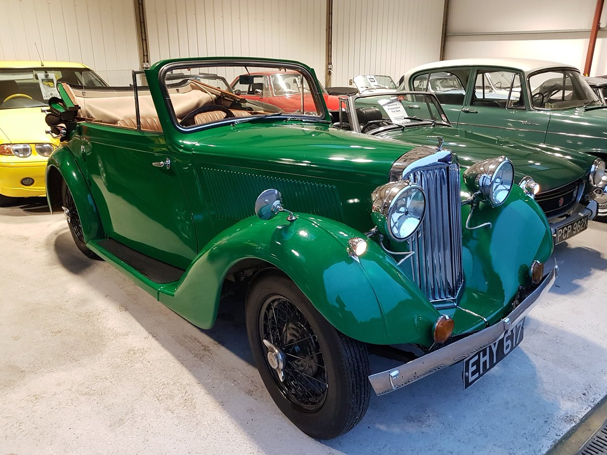 1937 Talbot Ten Drophead Coupe by Abbott SOLD (picture 6 of 6)