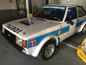 1984 Talbot Sunbeam Lotus