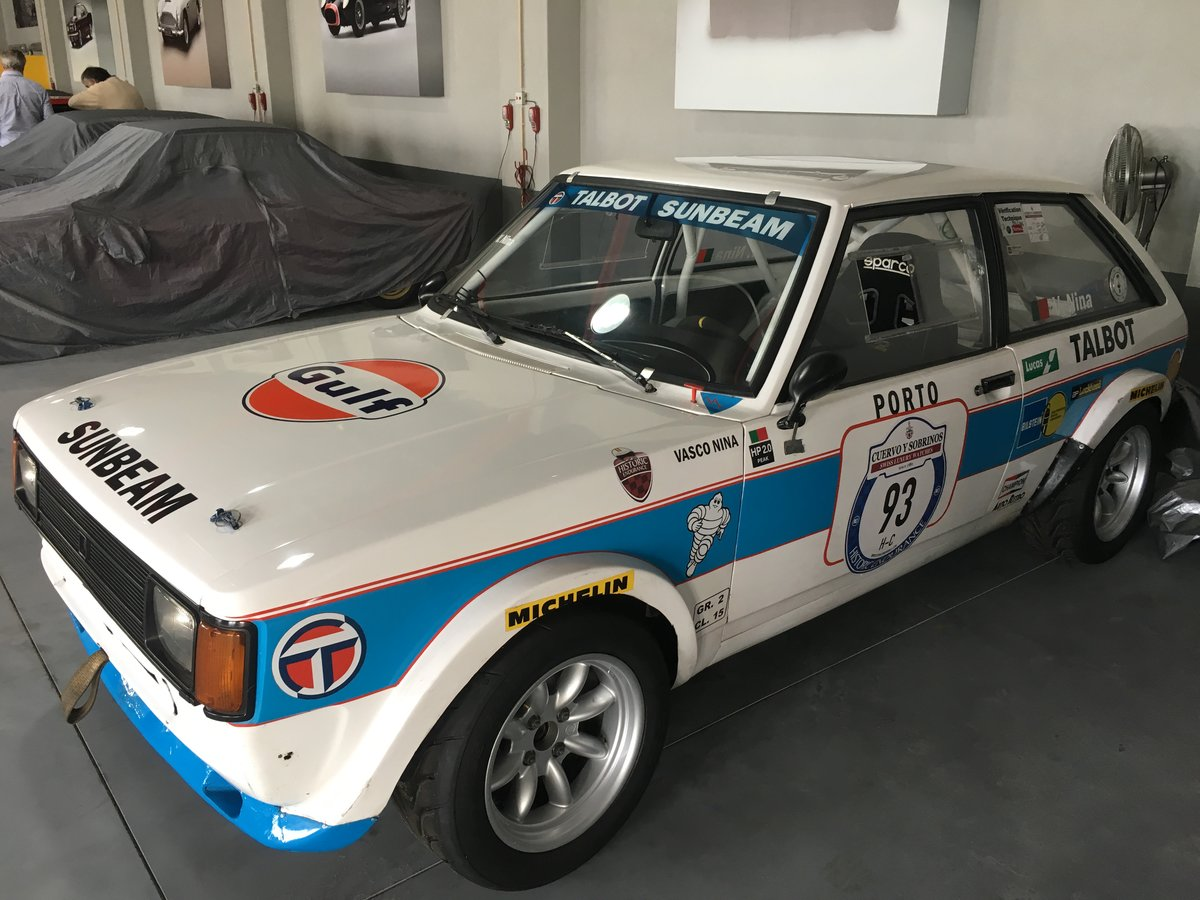 1983 Talbot Sunbeam Lotus Gr.4  LHD For Sale (picture 4 of 6)
