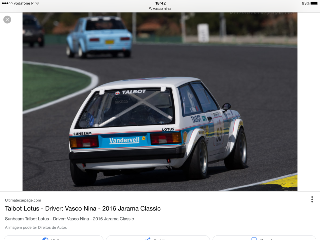 1983 Talbot Sunbeam Lotus Gr.4  LHD For Sale (picture 5 of 6)