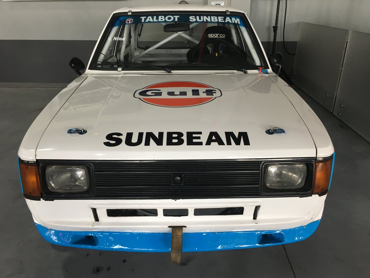 1983 Talbot Sunbeam Lotus Gr.4  LHD For Sale (picture 6 of 6)
