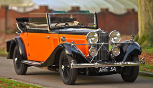 1934 Talbot AV105 Three Position Drophead Coupe For Sale