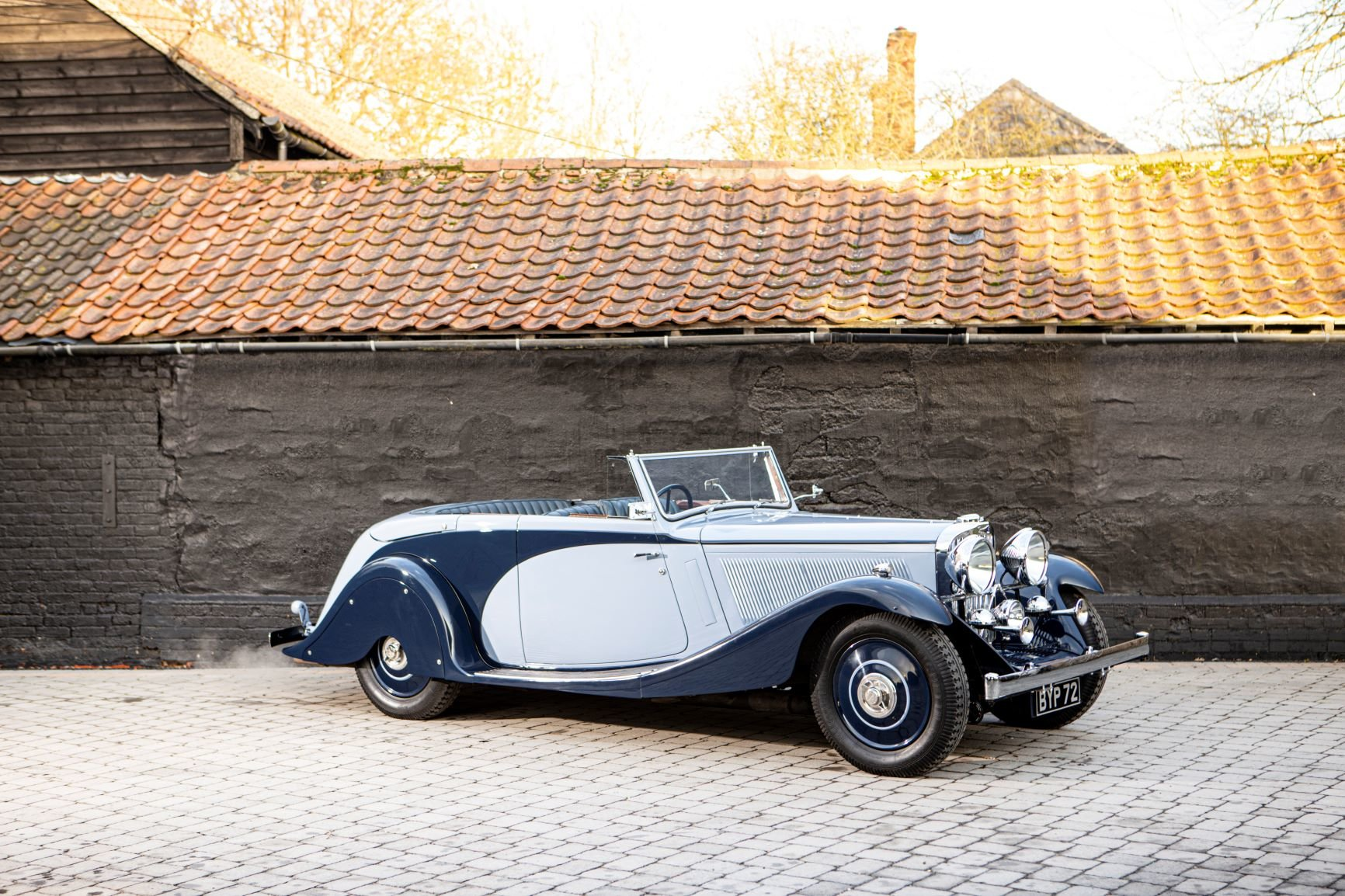 1935 Talbot BA110 Drophead Coupé For Sale (picture 1 of 6)
