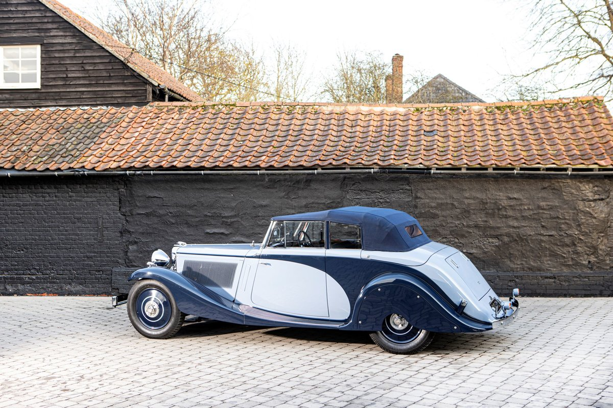 1935 Talbot BA110 Drophead Coupé For Sale (picture 5 of 6)