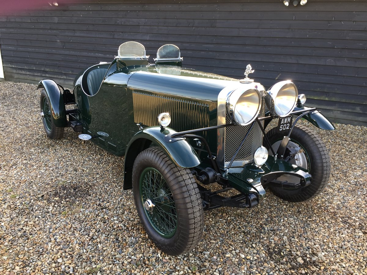 1934 Talbot BA 75 Brooklands Racer For Sale (picture 1 of 6)