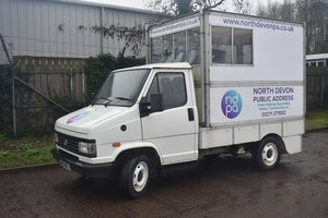 1993 Talbot Express 4x4 commentary van 30/5/20 SOLD by Auction