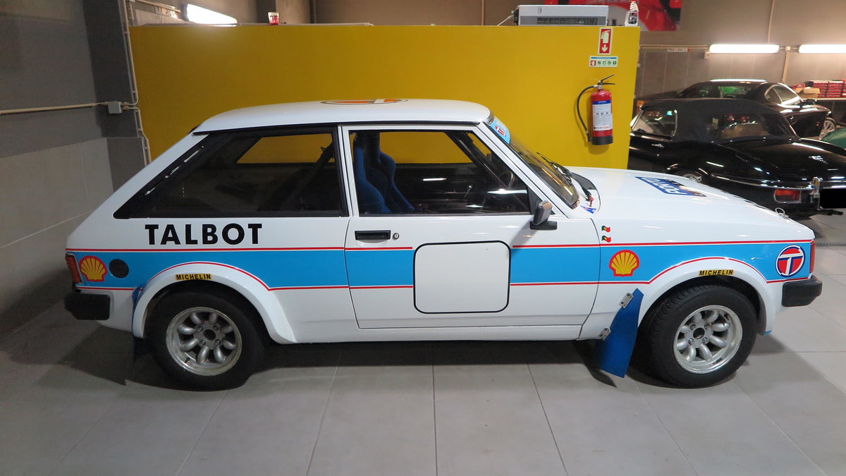 1982 Talbot Lotus Sunbeam      For Sale (picture 1 of 6)
