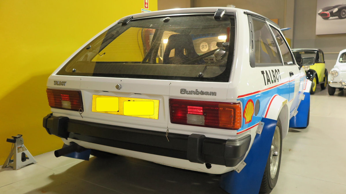 1982 Talbot Lotus Sunbeam      For Sale (picture 5 of 6)