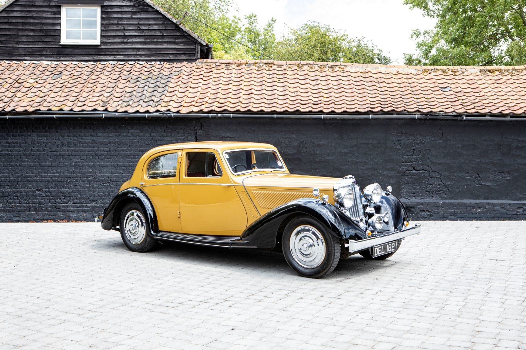 1936 Talbot 3½ Litre Speed Saloon Coachwork by Darracq For Sale (picture 1 of 6)