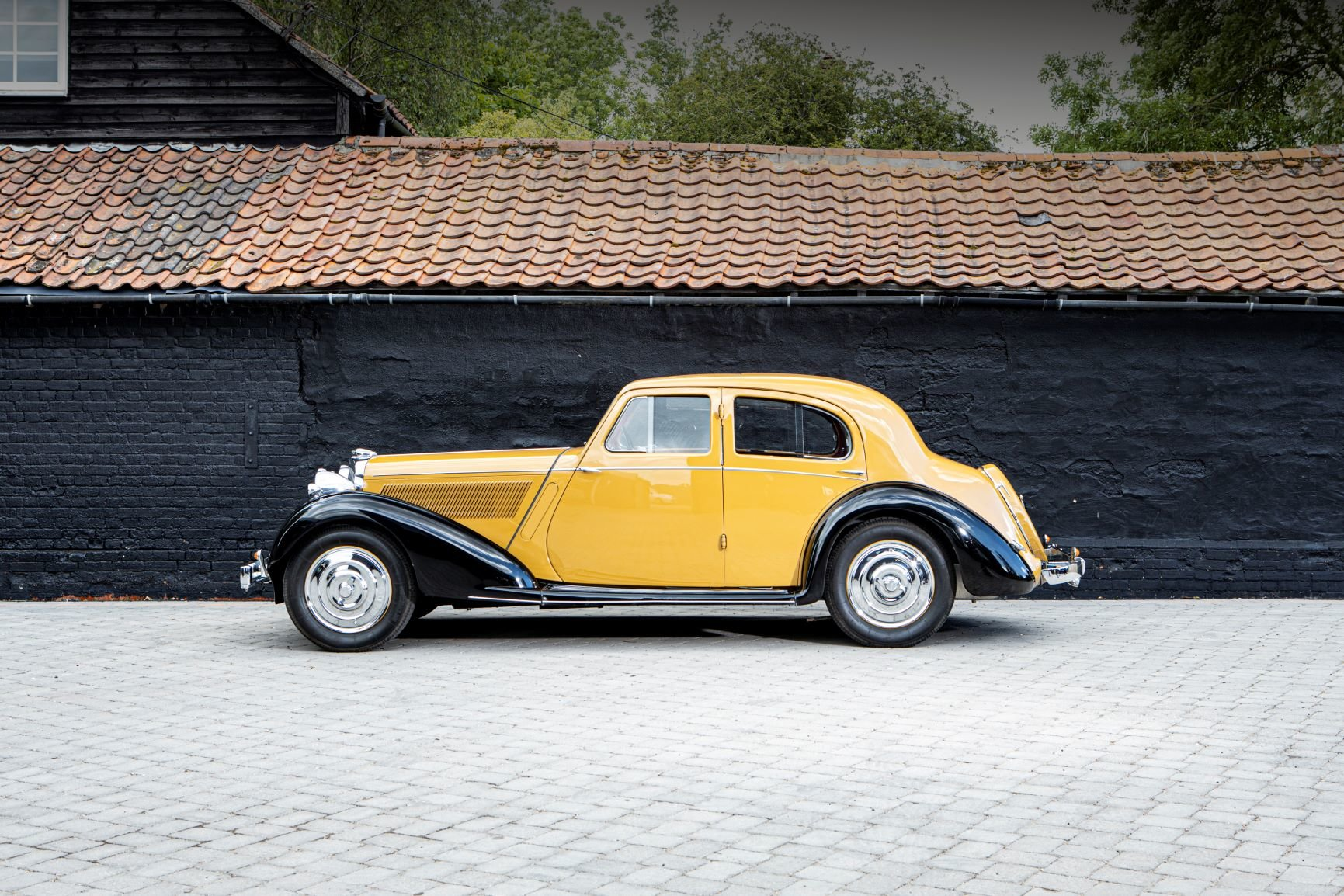 1936 Talbot 3½ Litre Speed Saloon Coachwork by Darracq For Sale (picture 3 of 6)