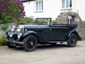 1934 Talbot 65/75 Drophead Foursome Coupe For Sale by Auction