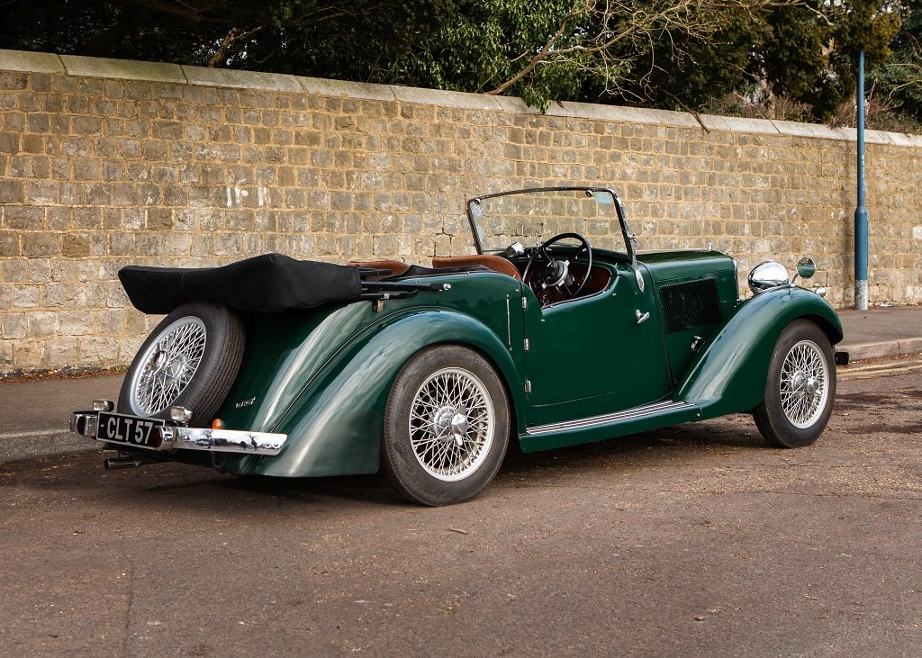 1936 Talbot Ten Sports Tourer SOLD by Auction (picture 1 of 6)