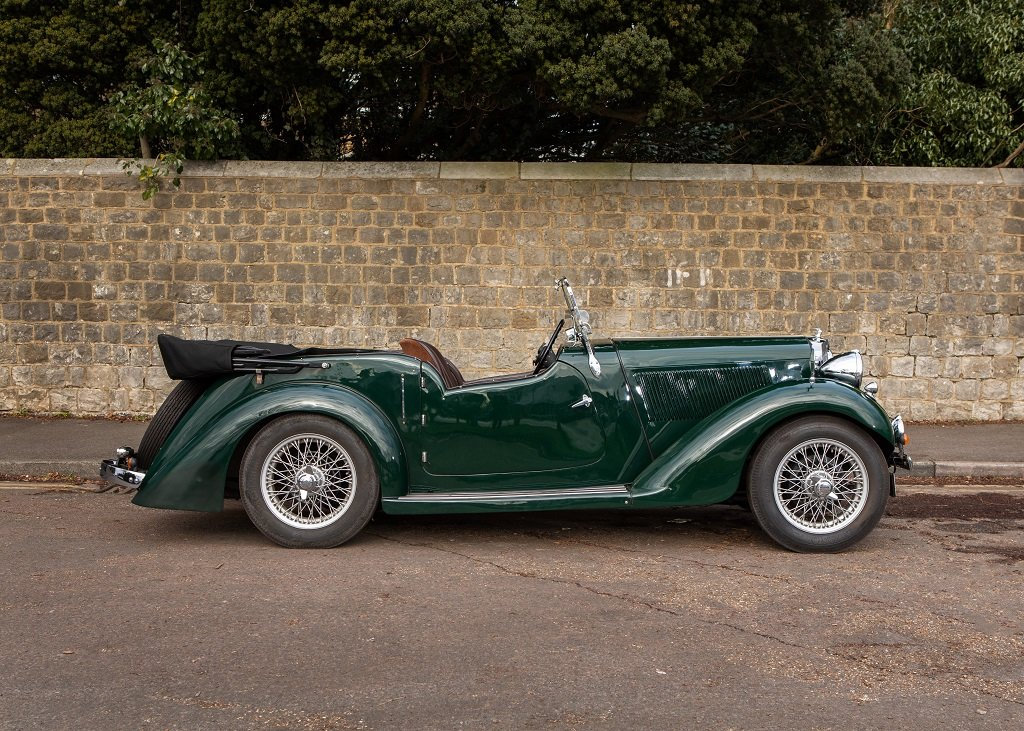 1936 Talbot Ten Sports Tourer SOLD by Auction (picture 2 of 6)