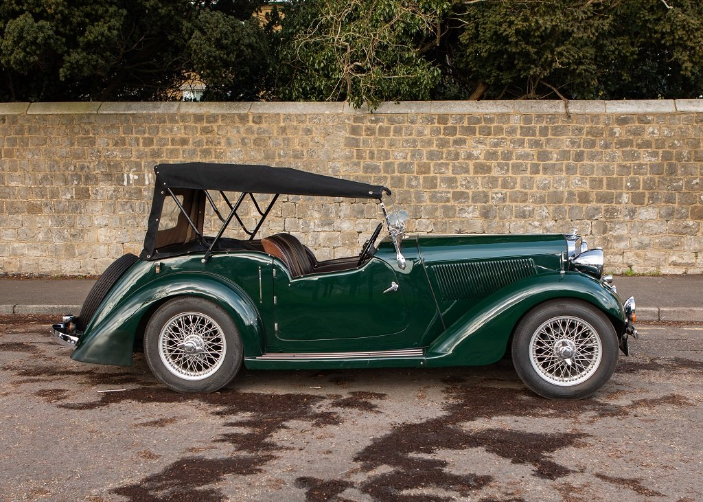 1936 Talbot Ten Sports Tourer SOLD by Auction (picture 3 of 6)