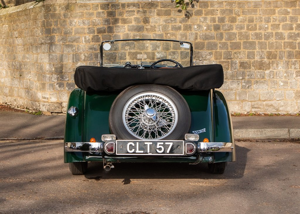 1936 Talbot Ten Sports Tourer SOLD by Auction (picture 4 of 6)