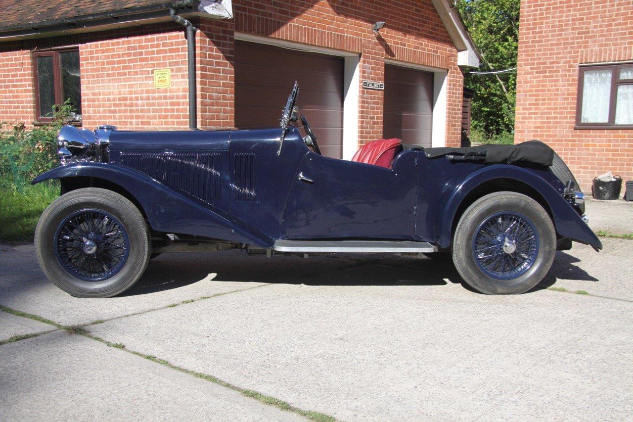 1933 Talbot AV 95/105 Coupe des Alpes Vanden Plas style For Sale (picture 2 of 6)