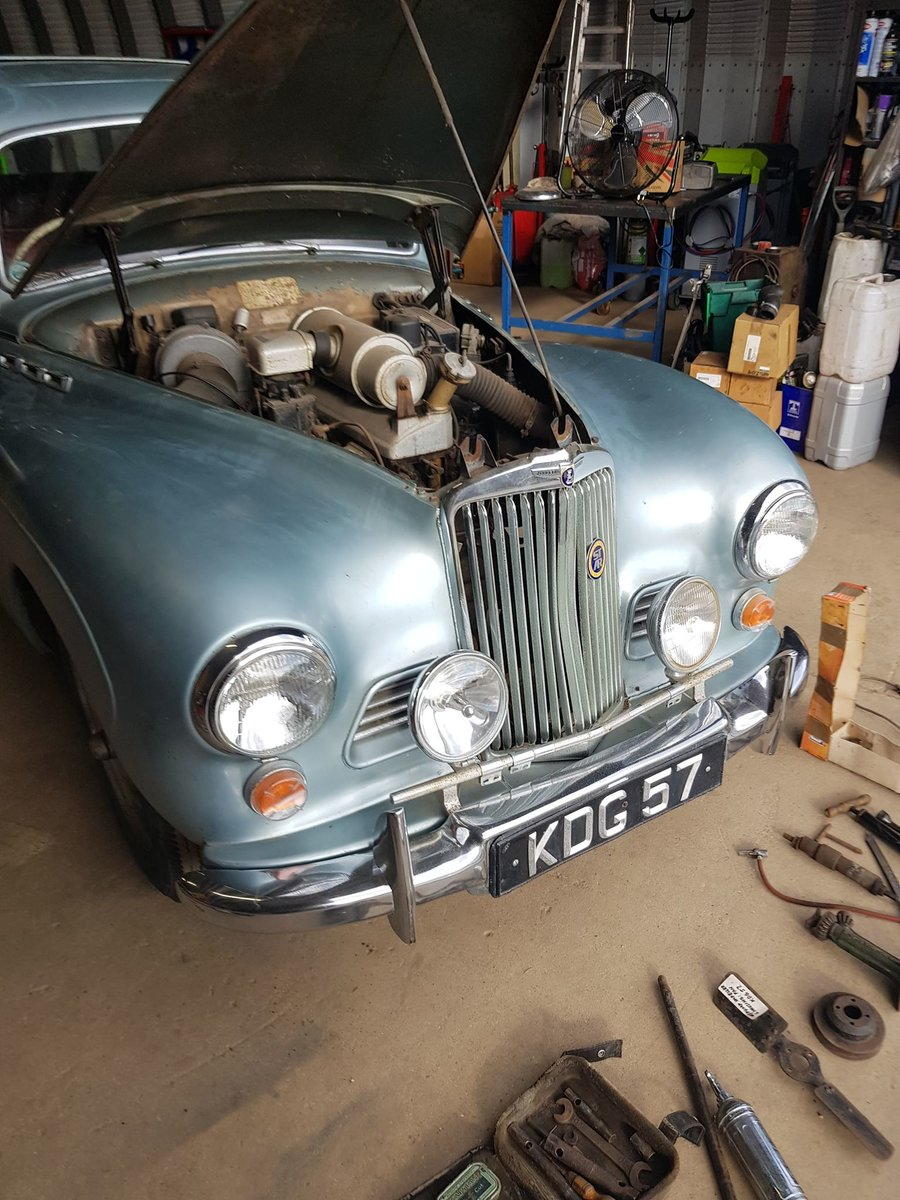 1951 Talbot Sunbeam MKII (comes with transferrable registrat For Sale (picture 1 of 6)