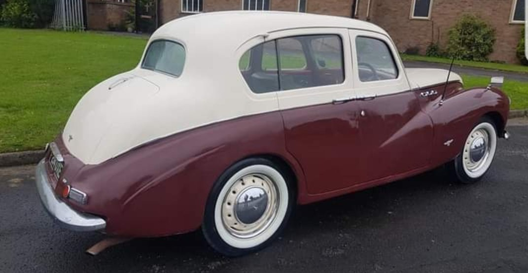 1955 Sunbeam Talbot 90 2.3 fsh 60k miles vgc For Sale (picture 3 of 6)