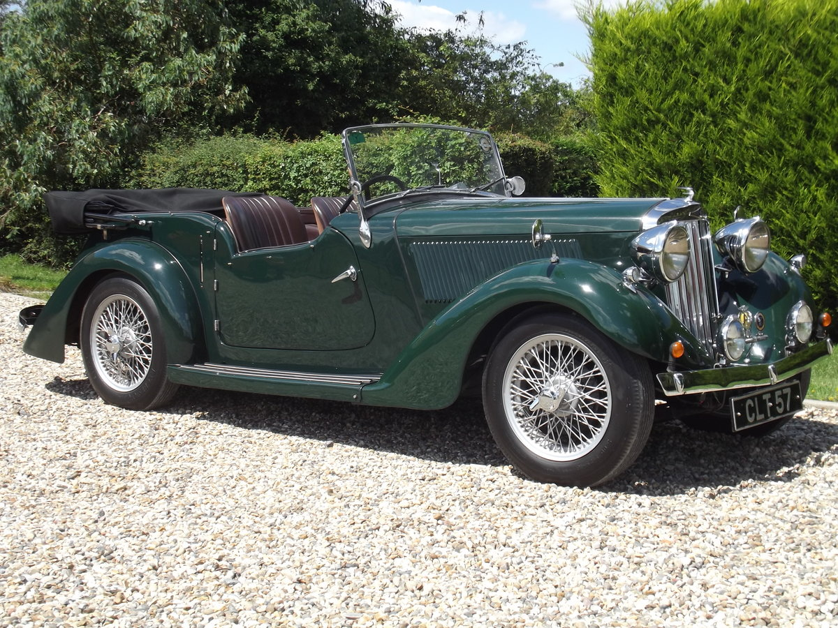 1936 Talbot Ten Sports Tourer For Sale (picture 1 of 6)