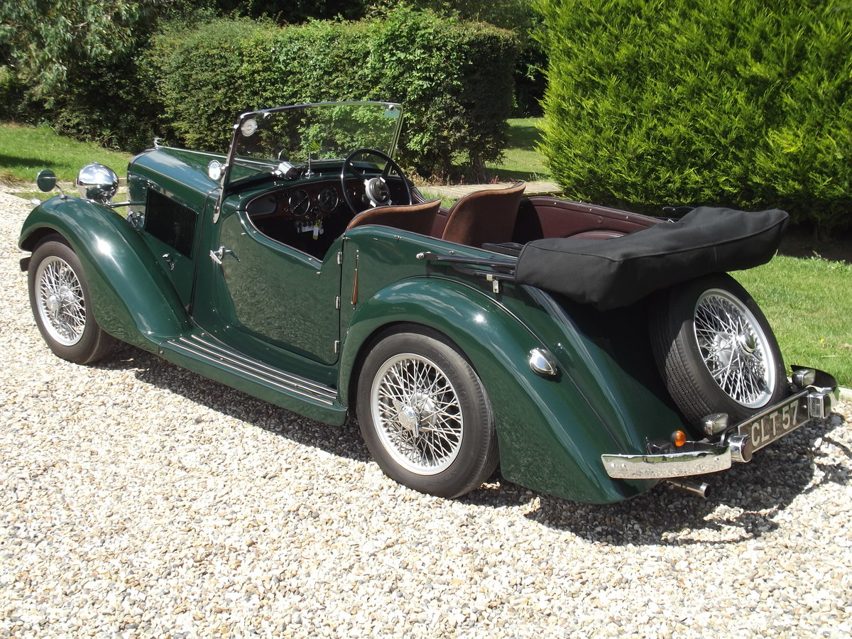 1936 Talbot Ten Sports Tourer For Sale (picture 2 of 6)